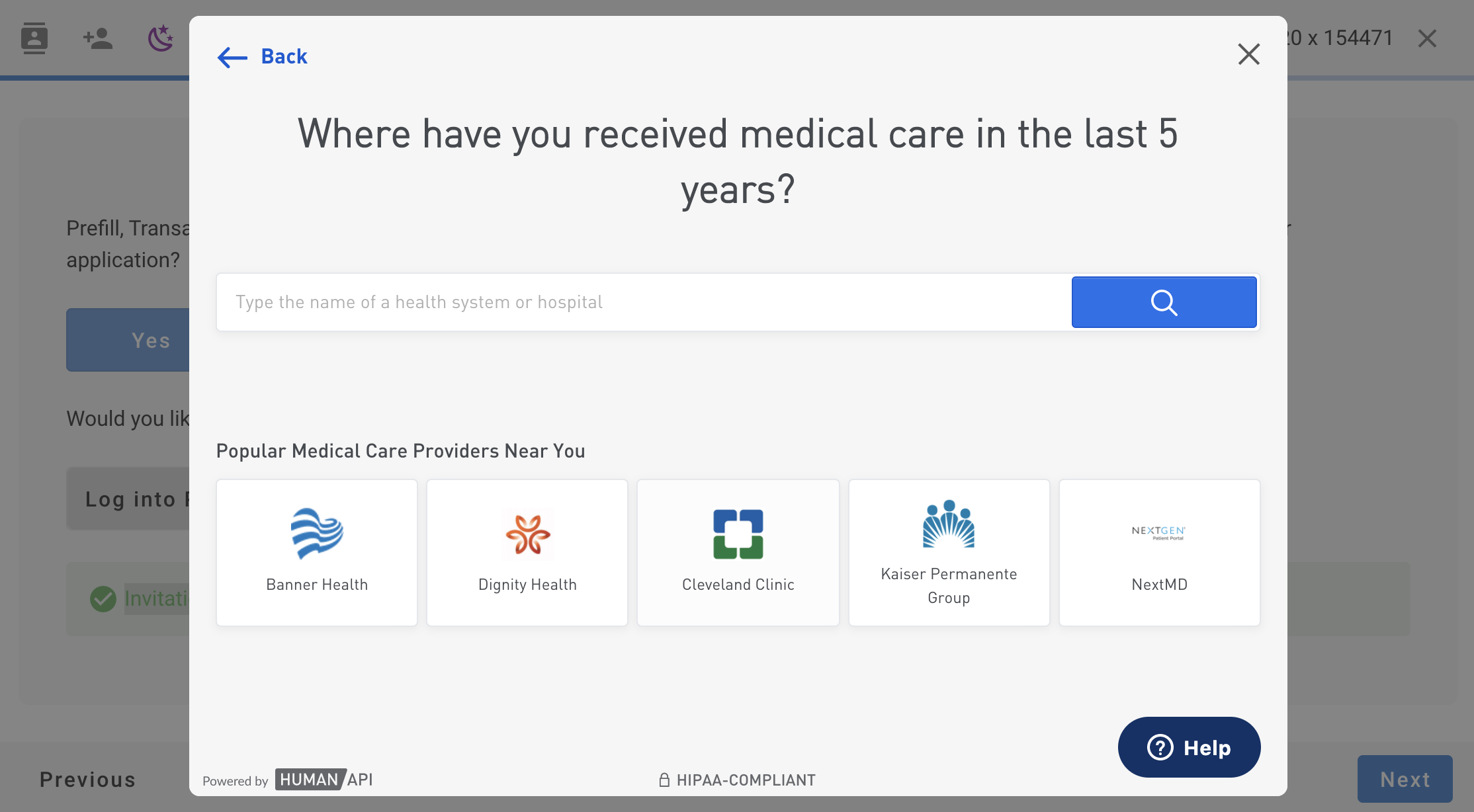 Log in to Patient Portal